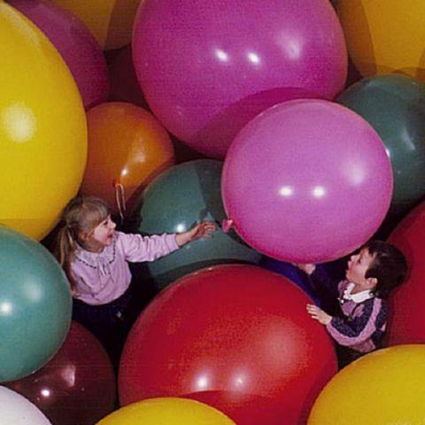 Ballons géants, diamètre: 90 cm, couleurs différentes à choix